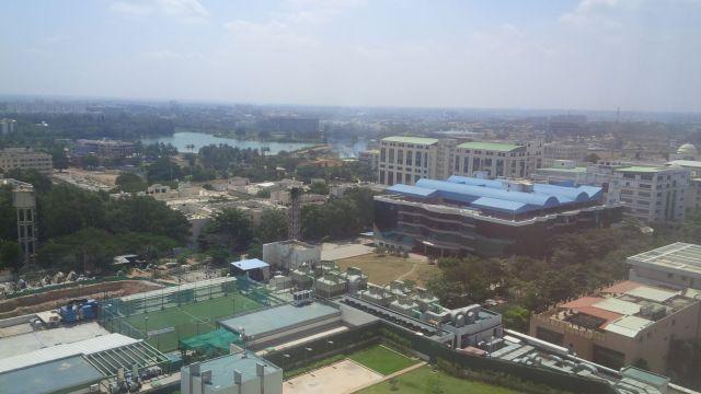 Bangalore on a fine Friday morning