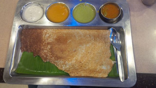 ye accha dosa hai. (this dosa is good :-)