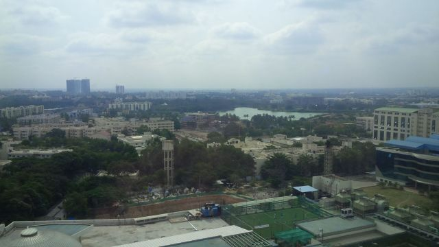 """Bangalore awakes to day three [""""tina""""]"""