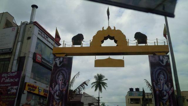 Ornate coolness abounds in Bangalore.