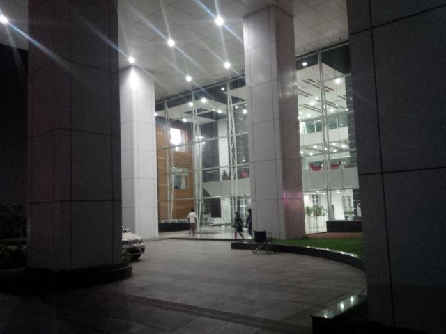 Entry to the building housing Ciber India.