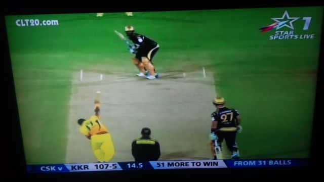 KKR vs CSK. Go team!