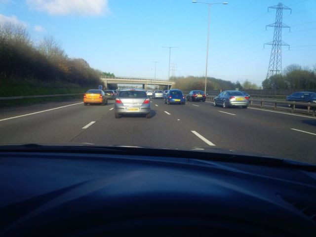 Driving on the M25