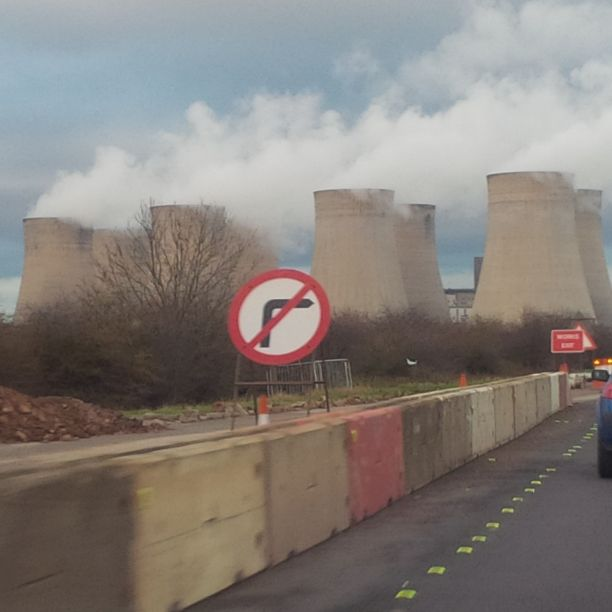 (Okay, technically, because these are cooling towers, they are cool, but still NOT COOL!)