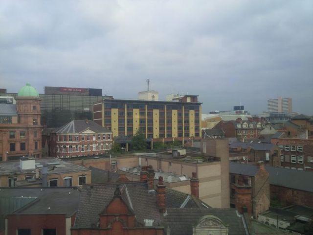 Nottingham, already awoken.