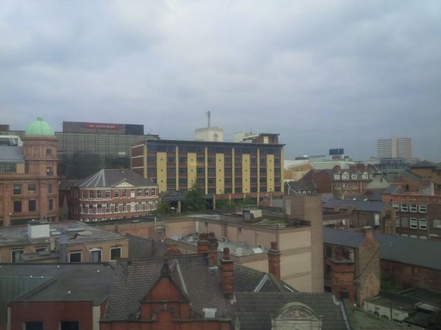 Nottingham, already awoken.