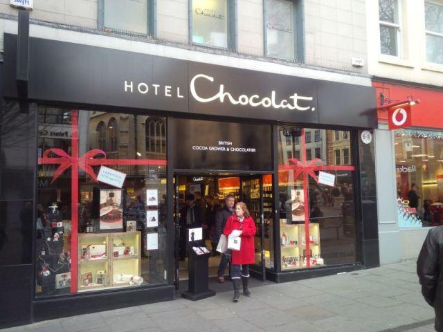 Mmmmm.....chocolat!