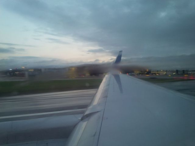 We're off!