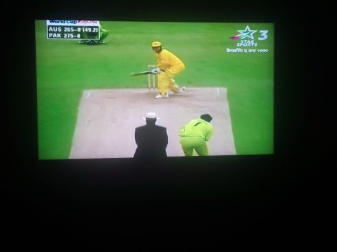 India - where there's always a cricket game on TV.