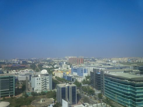 (Later that Monday) - Hello Bangalore!