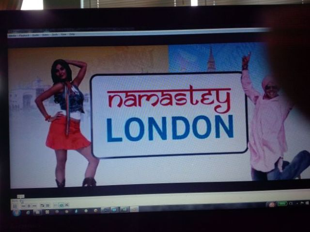 "Time for the traditional India-trip movie.  How about ""Namastey London"".  Ji-hai!"