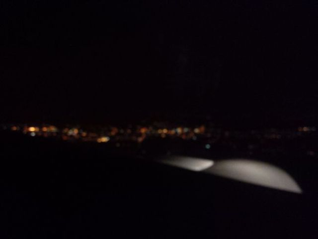 Top of the morning! Early morning, landing at London Heathrow.