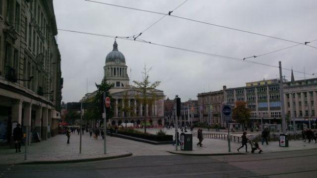 Nottingham scene.