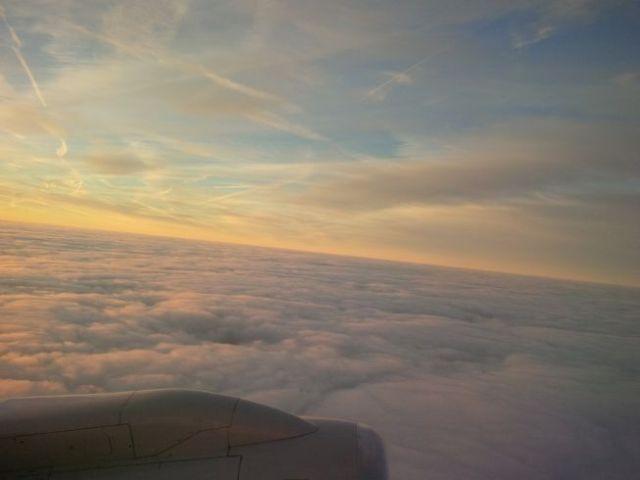 Heading west...