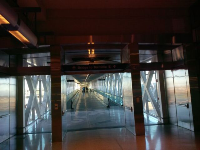 The Bridge to Int'l terminal.