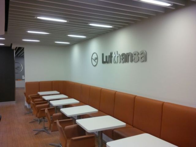 Now for some Lufthansa Lounge time!