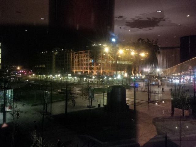 View from the restaurant.