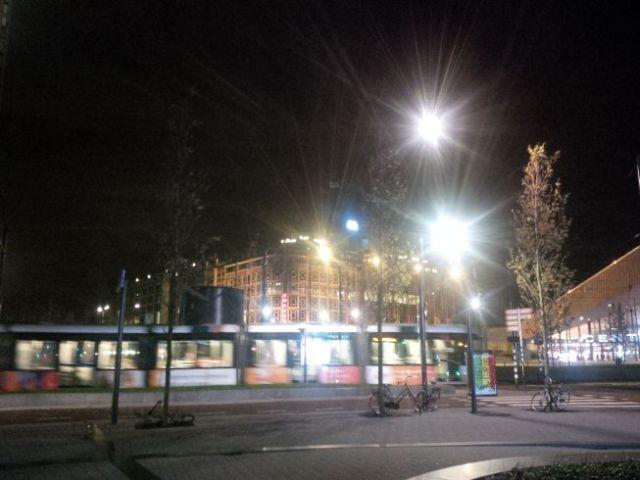 Pics of Rotterdam, Sunday night.