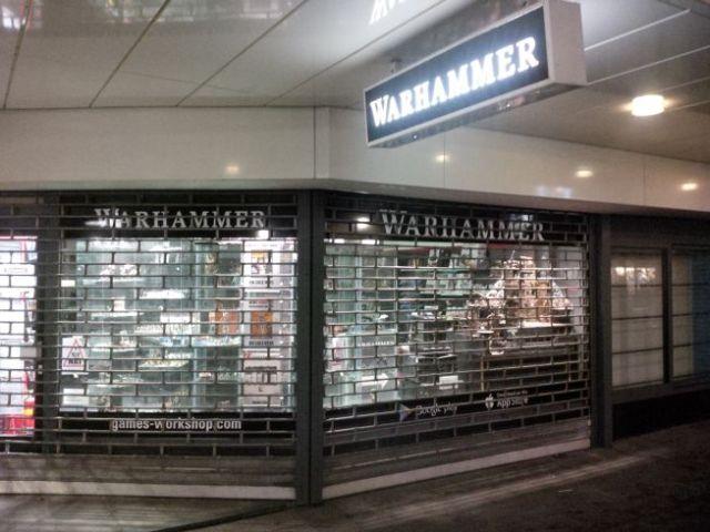 Rotterdam has Warhammer (see last UK trip).  Pic in honour of Staci.