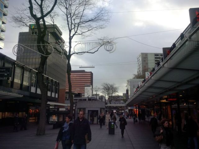 Last walkabout in Rotterdam.