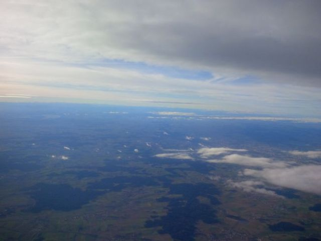 Germany from above.