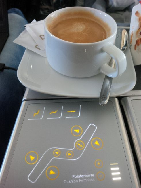 Lufthansa...business...class...has...espressoooooooooooooooo!!!!