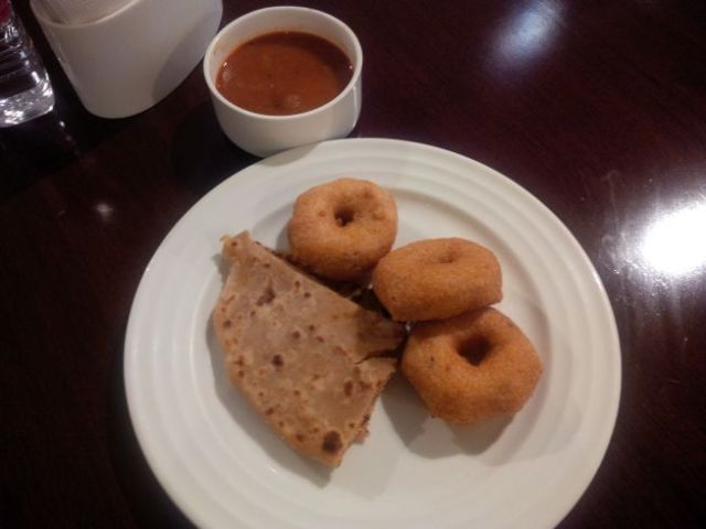 Oh man, India breakfast.