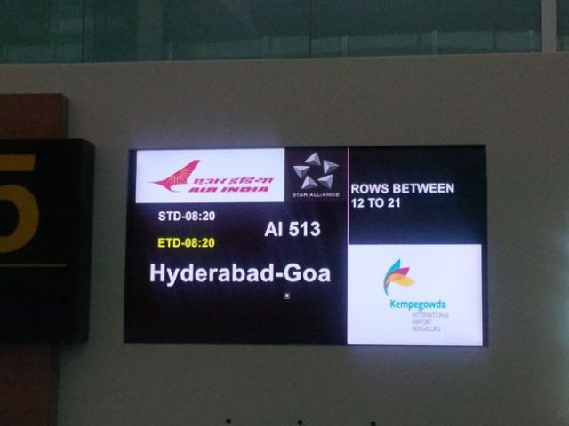 First time going to another India city.