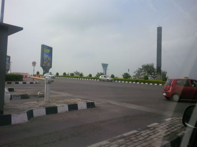 Pics driving airport to hotel in Hyderabad