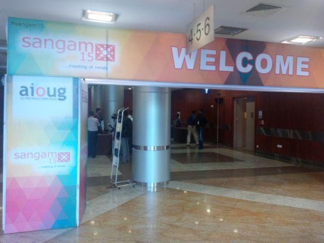 Sangam15 Conference begins.