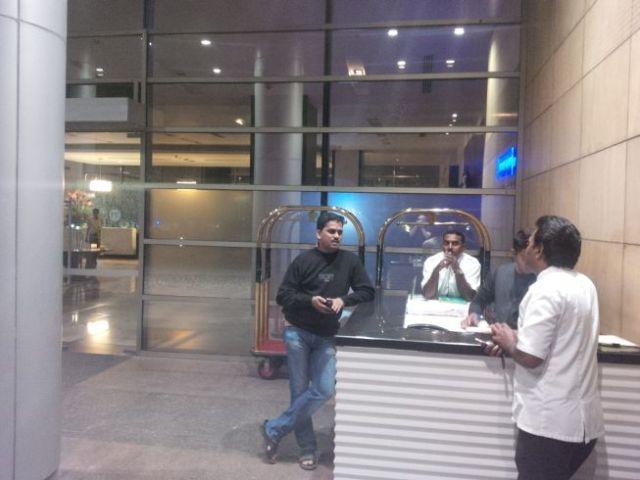 Mohan negotiates a cab ride.