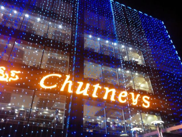 Goutham had recommended Chutney's.