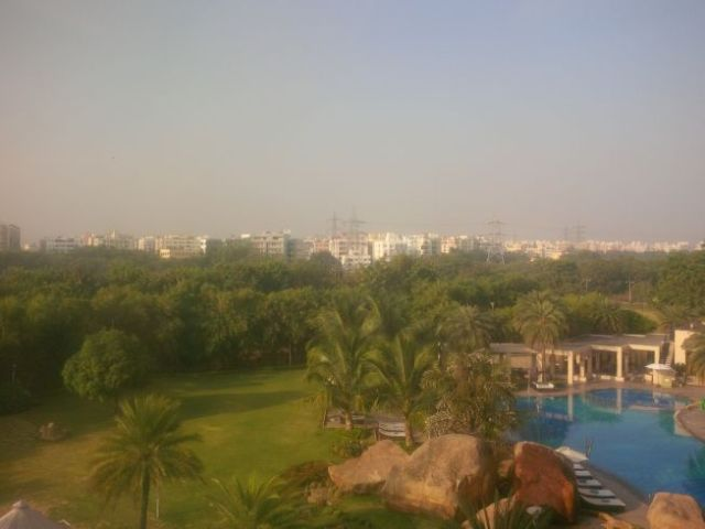 Sunday in Hyderabad.