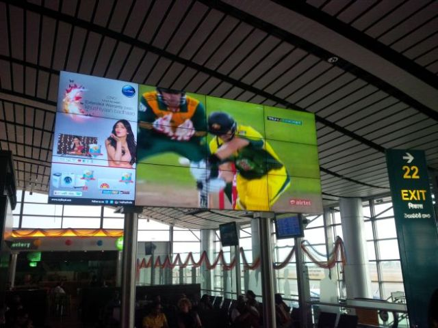 BIG SCREEN CRICKET!