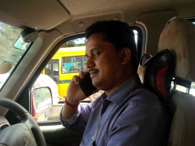 My driver looks troublesome.