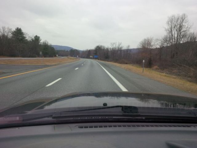 No snow on the ground as I leave Vermont - will that be the case when I return?