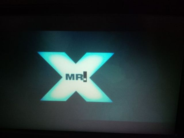 Movie #2 - Mr X! Which is totally unbelievable in concept but was fun to watch nonetheless.  After this movie, I crashed and slept.