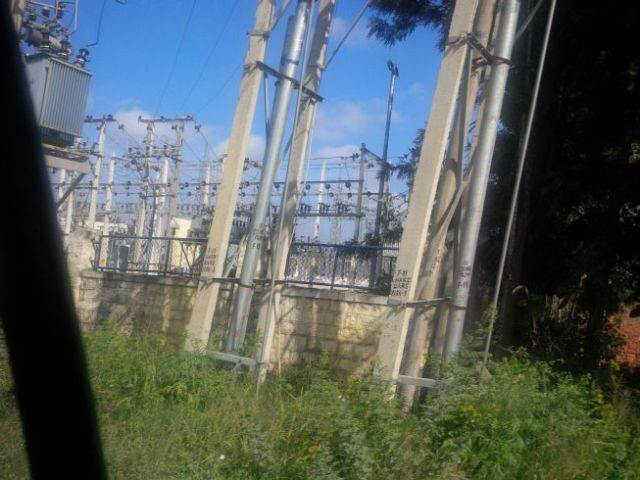 Infrastructure, which became a theme of the pics this trip.