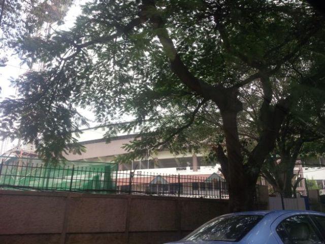 M Chinnaswamy Stadium, home of the IPL Bangalore Royal Challenge.