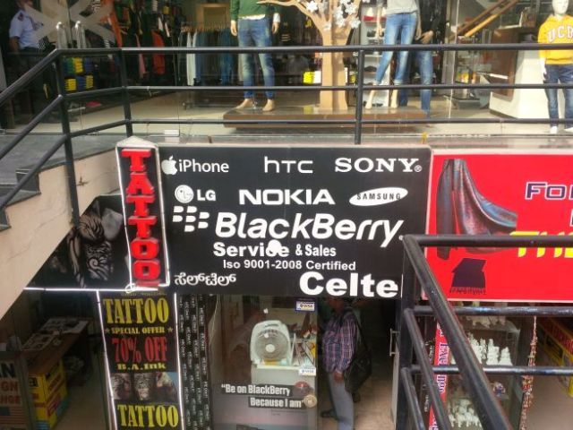 Yes! Blackberry!